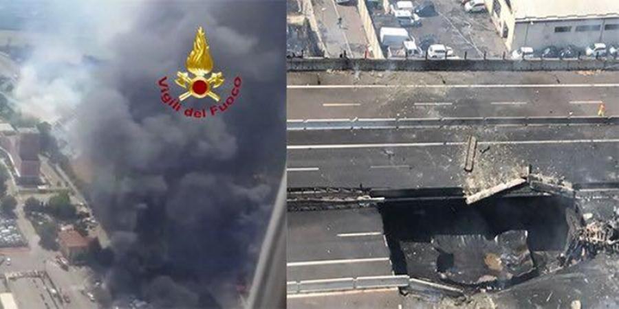 Incendiu devastator urmat de o puternică explozie la Bologna. Zeci de răniți și doi morți