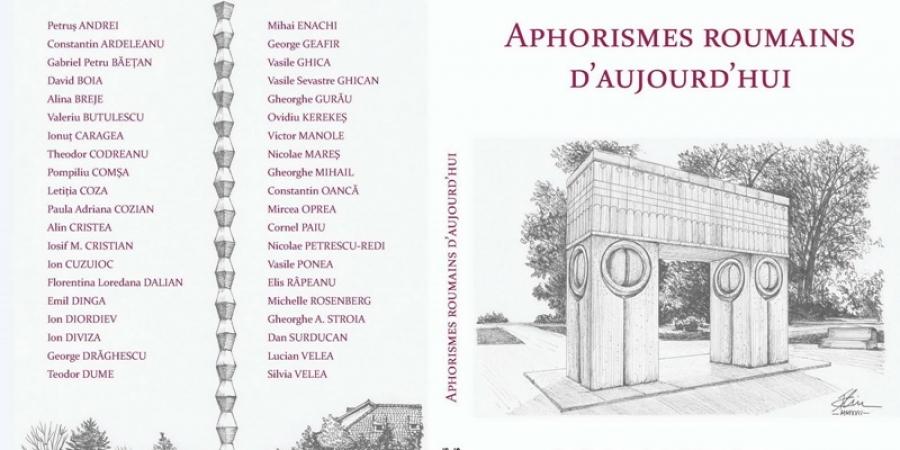 """O antologie a aforismului românesc publicată în Franța: """"Aphorismes roumains d"""