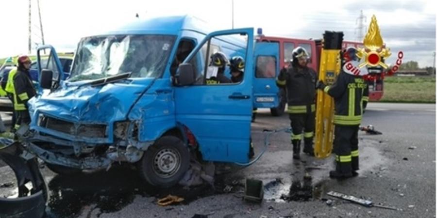 Ciprian Colciar este șoferul român rănit grav în accidentul din Italia