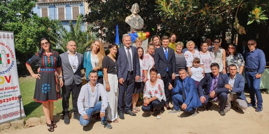 Istoricul Nicolae Bălcescu, omagiat în Italia la 200 de ani de la naștere