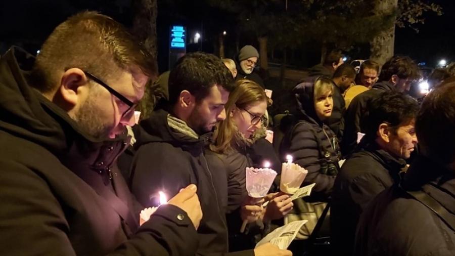 """Monument, ridicat în memoria victimelor traficului de persoane la zece ani de la moartea Christinei Tepuru, românca ucisă cu sânge rece la Bologna: """"Femeia nu este o marfă, nu este un obiect ci un subiect"""""""